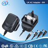 2015 NEW 6W 12V AC adapter/power supply with GS CE UL/CUL PSE,KC,SAA/C-Tick