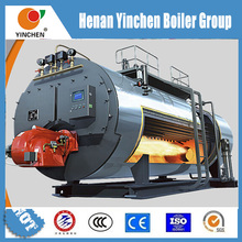 2t wet back structure horizontal diesel oil or gas burner boiler for textile dryers
