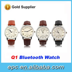 China manufacturer smart watch mobile phone, hottest smart bluetooth watch