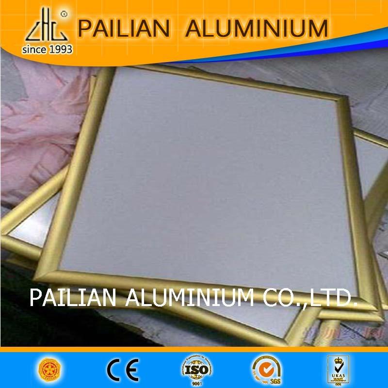 Precisión marco de aluminio extruido para pizarra, fábrica marco de ...