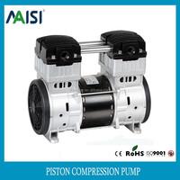 1500w oil free micro ac portable piston 1.5hp air compressor pump