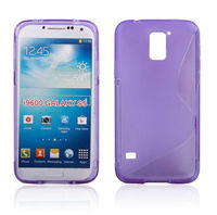 Wholesale products S Line Wave Silicone Gel Cover TPU back case for galaxy s5 i9600