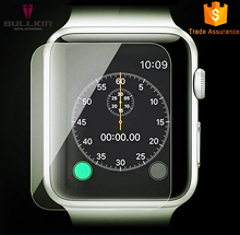 2015 new product I Watch 9H Tempered Surface Glass Film , Flexiable Soft Screen Glass Protector