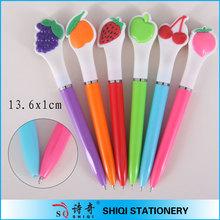Advertising plastic children gift fruit scented pen