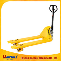 5 ton manual pallet truck ,pallet jack with CE ISO ,strong capacity heavy duty pallet truck