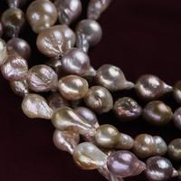 13mm A grade natural freshwater nucleated edison pearl pink lavender color
