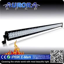 "Anti-shock Aurora 50"" double row led light high power led off road light"