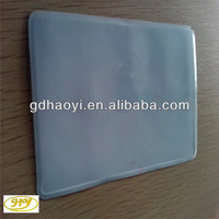 clear plastic credit card holder