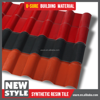 low cost roof tiles / easy installation corrugated plastic roof panels / lasting color pvc roof tile