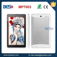 New Trade assurance 7 Inch high definition Screen MTK8312 MTK6572 dual core tablet pc 3g sim card slot