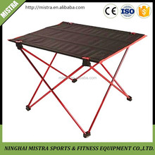 Multi-Purpose portable folding table for camping ,picnic ,beach,garden ,lightweight aluminum foldable table