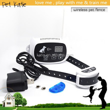 Cost Effective Smart Dog Supplies Electric Wireless Pet Training Fence KD-661