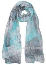 Fashion Lady's scarf in autumn scarves Animal print scarves 2012