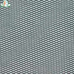 Tricot nylon spandex black mesh fabric for gym/ sport wear