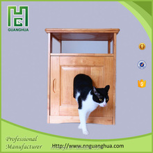 wooden cat litter furniture toilet pet crates import from china