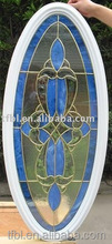 soundproof oval glass door inserts nautical stained glass inserts for home decoration