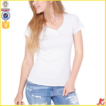 women plain white tshirt