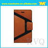 stiching matching work pu case for iPhone , perfect phone case , custom for iPhone cover