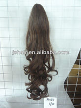 ponytail with jaw clip in hair extension synthetic hairpieces