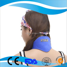 Adjustable magnetotherapy pain relief thermal neck pad