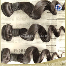Hotsale best selling super quality hot new products virgin loose wave indian brazilian hair weavee