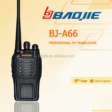 Mini Size Measurers 110*55*34mm VOX uhf/vhf two way radio uhf transceiver phone walkie talkie handsfree walkie talkie BJ-A66
