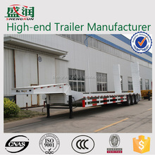 Extensible and lifting platform heavy transport low bed trailer