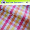 yarn dyed large check fabric shirting large plaid fabric sale