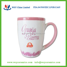customized photo printing cheap fancy ceramic coffe cups mugs
