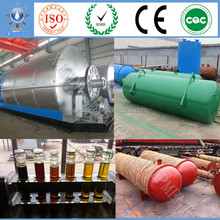 Q345R steel Best factory discount price Converting Tyre, Rubber and Plastic to Oil Pyrolysis Machine