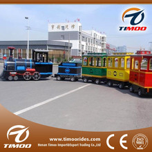 Small train manufacturer sale Interesting games children's electric trackless locomotive in china