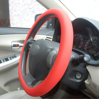 Best seller silicone red steering wheel cover for GOLF 7