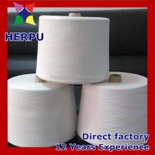 polyester spun yarn/close virgin yarn/100% polyester yarn 30/1