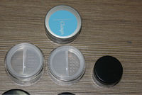 10g 20g rotating sifter jar,loose powder case with sifter