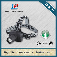 New led zoom focus extended classical head lamp for fishing