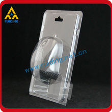 custom clear plastic blister packing for mouse