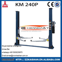 Low price 2 Post Car Lift For Sale/ Car Lift Auto/Lift Car 4T weight KM240P