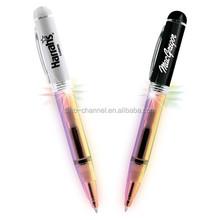 Wholesale novelty custom Designer Lighted Pen