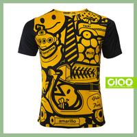 Yellow party design - unique starter sportswear men