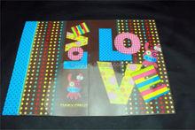 libro di copertura in plastica trasparente book cover decorative