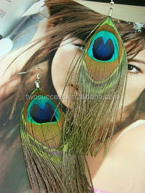 peacock feather earrings (9)