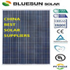 Bluesun high efficiency pv solar panel price 250w for big solar project use