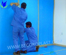 Best price 3mm PP Corflute Floor Protection Board in blue