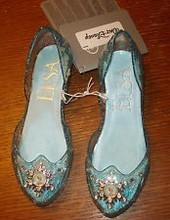 100% Original New Disneys Store Frozen Light-up Elsa Shoe