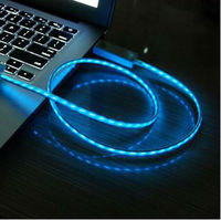 2013 New Item led charging cable,led charging cable for iphone 5,usb multi charge cable