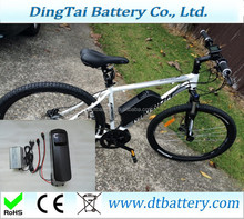 25A high discharge current li-ion 36v 14.5Ah e-bike battery Samsung power cells with USB port for 8fun BBS02 motor kit
