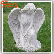 European statue molds for sale of garden marble statue of flower fairies cemetery angel statue