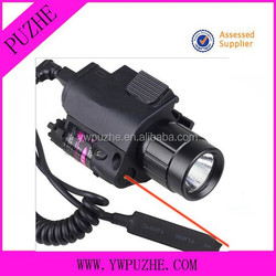 Doublecross Tactical Hunting Green Pistol Laser Sight and Flashlight Combo Sight Tactical Mini Reflexible red Dot Sight