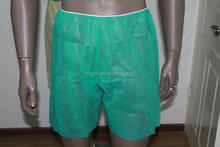 Beauty center and hospital use disposable men's uderwear,nonwoven men's brief,pp men's boxer