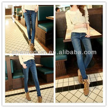 SPRING AND AUTUMN NEW KOREAN FASHION WOMEN'S JEANS,PENCIL PANTS TROUSERS